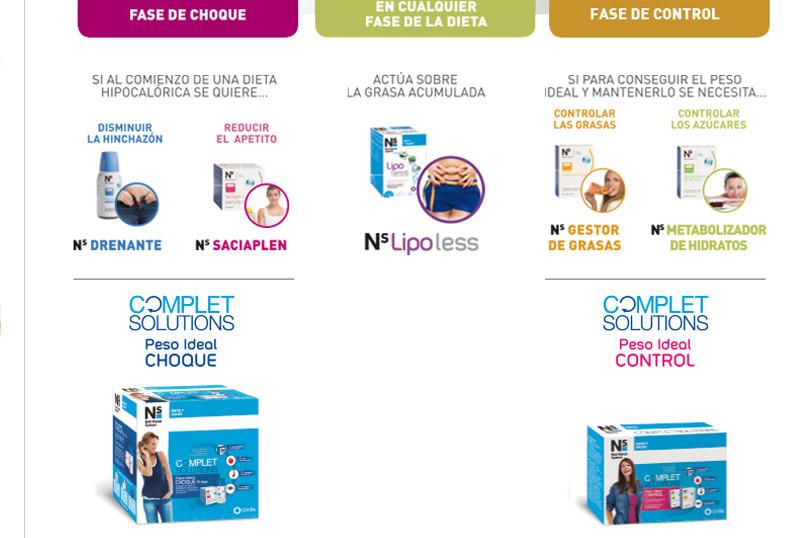 promoción NS complet diet cinfa farmacia secadero farmactitud.es